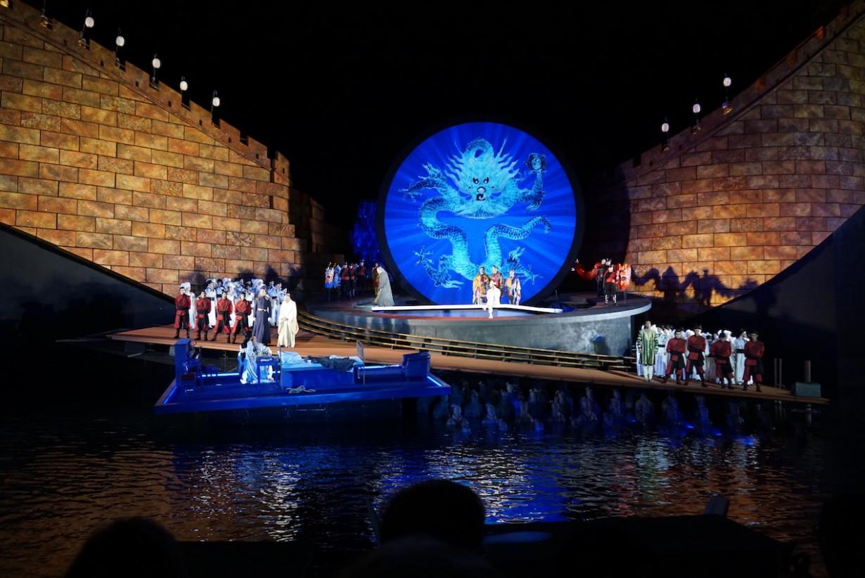 Turandot scene